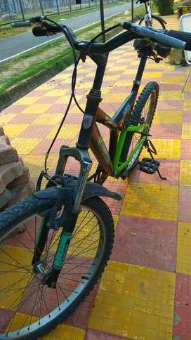 Kross mountain bike K40 Dual suspension