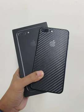 Jual NET IPHONE 7+ 128GB Black rsami iBox PA/A fullset ORIGINAL.