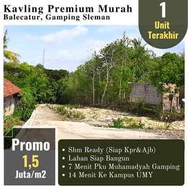 Tanah Murah Siap AJB, Strategis Dekat RS PKU Muhammadiyah Gamping