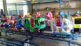 BARU mainan anak kereta panggung mini odong odong full fiber 11