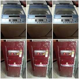 Good warranty 5 year **washing machine **fridges Ac delivery free