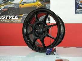 Velg Mobil Wuling Cortez, Almaz dll Ring 16 HSR Wheel KEEROM