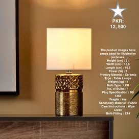 Branded Table Lamps in Different Sizes and Prices