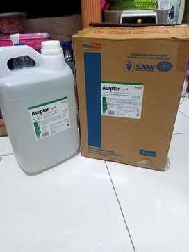 Handsanitizer aseptan liquid