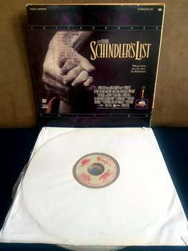 Film Laser disc Schindler's List