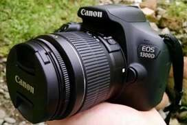 RENT RENT RENT CANON 1300D DSLR IS FOR RENT WITH TWO ZOOM LENS