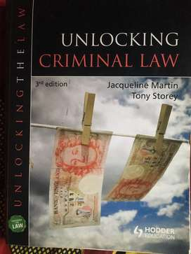 UNLOCKING CRIMINAL LAWS