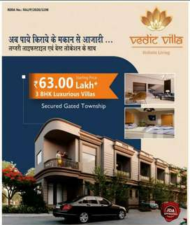 Vedic Villa 3 BHK Villad at Gandhi Path West