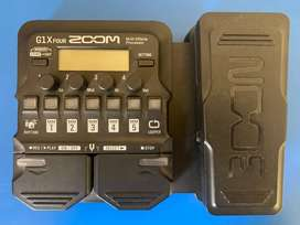 Zoom G1X Four - Multi effects guitar processor/pedal