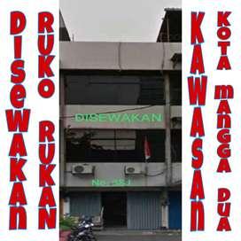 Disewakan Ruko Rukan 3 1/2 Lantai Kawasan Kota, Mangga Dua - Jakarta
