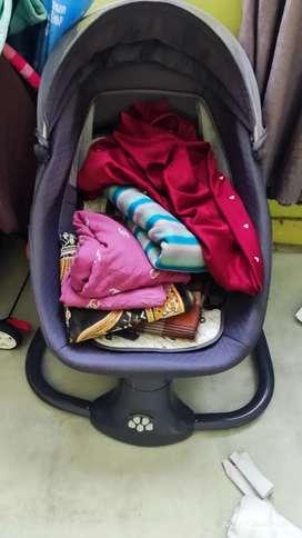 Bouncher cocolatye snuggli ayunan bayi preloved