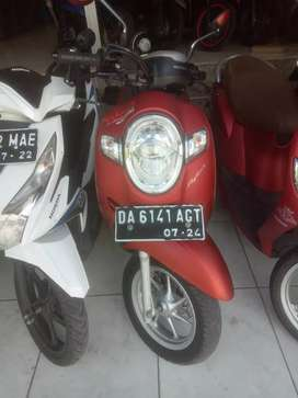 HONDA SCOOPY MERAH DUFF DP 3 JUTA DI DJAYA MOTOR ANTASARI