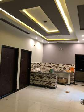 WITH LIFT - SUBLEASED - BRAND NEW 3 BED DD PORTION NAZIMABAD NO 2