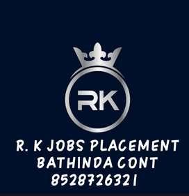 R. K JOBS placement bathinda