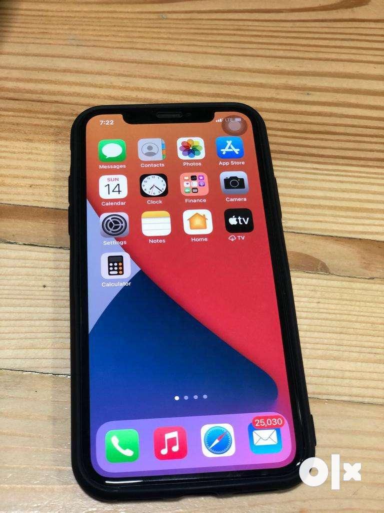 Iphone  X 256 gb black mint condition.