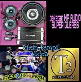 AUDIO MOBIL PAKET POWER SANSUI VS SUBWOOFEER MA SUPER HOREK GLERR GAN