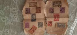 Old travancore stamp