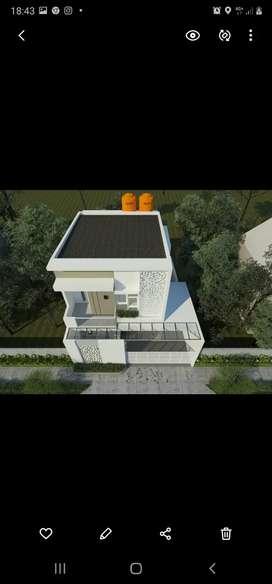 DiJUAL Rumah Minimalis lt2 Purwomartani