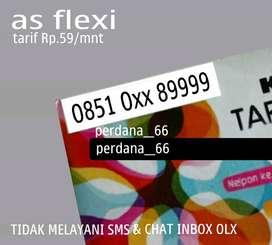 Kartu AS FLEXI Nomor89999Perdana SimPATI CANTIK|xl10Halo11jok9im3digit