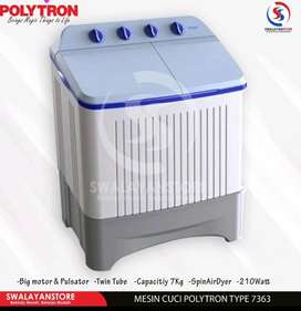 Mesin cuci Polytron Pwm 7363 hemat energi