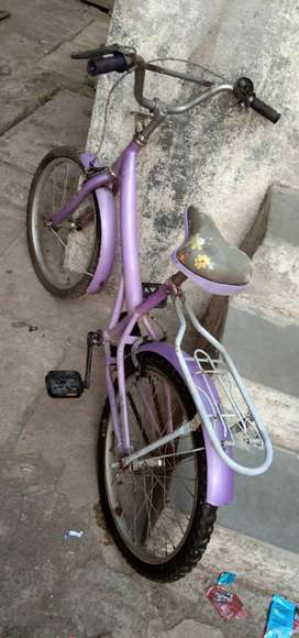 BSA champ girls cycle lavender colour