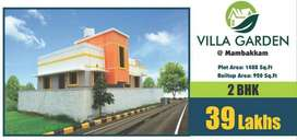 2 BHK INDIVIDUAL HOUSE FOR SALE @ MAMBAKKAM - KAYARU