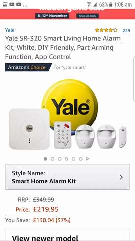Security Alarm and Smart lock