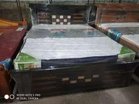 "YRK brand new queen size teak wood cot.5x6""3"