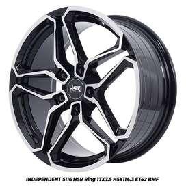Velg mobil terlengkap kab banyumas 550 Ring 17 Hsr wheel