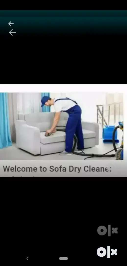 Sofa dry cleaning 0
