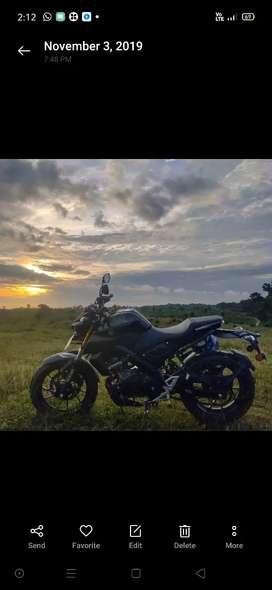 Yamaha MT 15 brand new condition