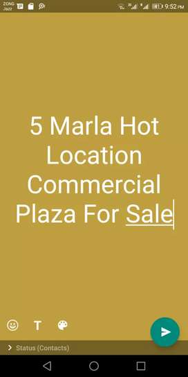 Rental Income 350,000 5 Marla Commercial Hight For Sale  Sector C.