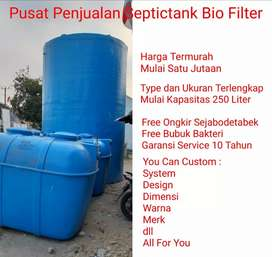 Pabrik Tangki Septictank Bio Filter Menerima Pesanan Kecil dan Besar