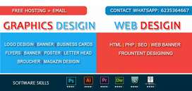 Graphics Designer and webdesinger