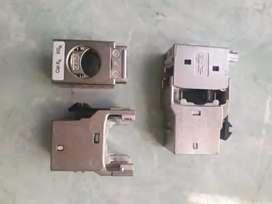Modular jack cat.6A AMP