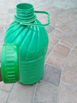Plastic Bottle 5 Liter With Handle and Capap