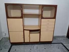 3 Unit Wooden cupboard, attachable and seprated both options available
