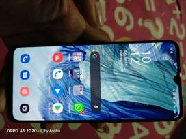 Oppo f17 on sell or to be exchanged by a mobile