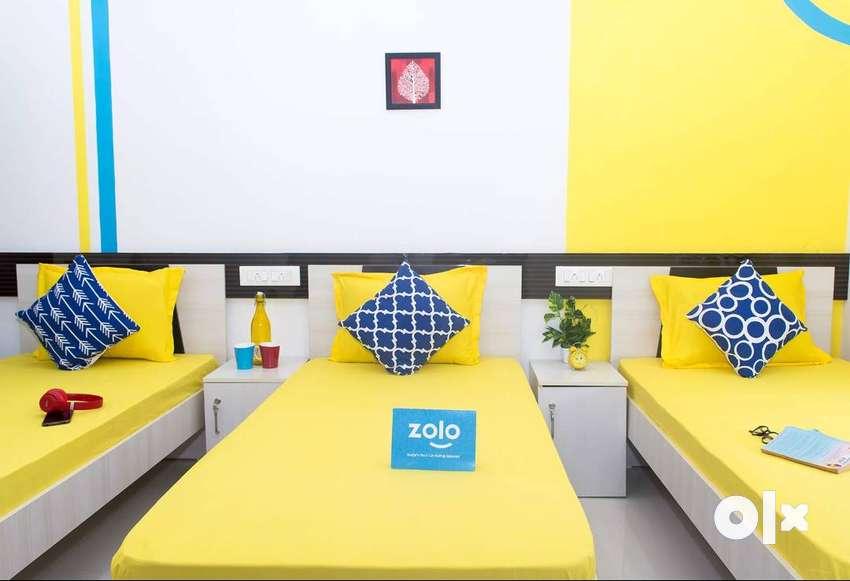 Zolo Hazel 1 2 & 3 Sharing PG For Men & women 0