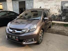 Honda Mobilio 2016 pemakaia 2017 E CVT Prestige AC Digital A/T Abu abu