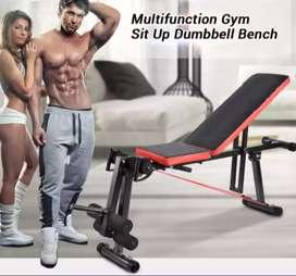 Multi Gym Sit Up Dumble Bench