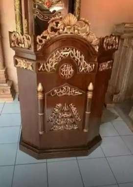 mimbar masjid model simple 01