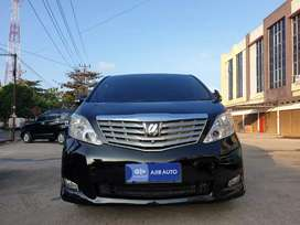Alphard 2.5 G Premium Sound AT th 2009, Km 77rb, Siap Pakai!
