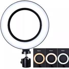 LAMPU RIAS / LAMPU VLOGGER / LAMPU YOUTUBER / RINGLIGHT 26CM