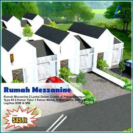 Promo Rumah Mezzanine 5 Menit Kampus UII Yogyakarta