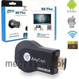 ANY CAST HDMI WiFi DONGLE M9 PLUS 1080P