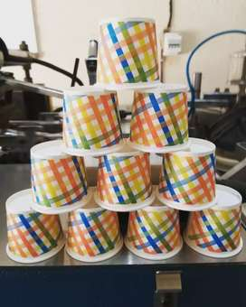 Paper cup paper plates