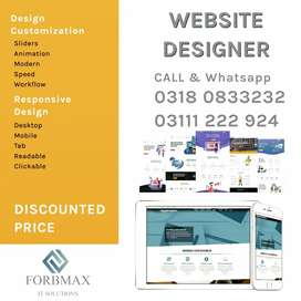 Website designing and development PROFESSIONAL