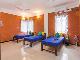 Zolo Brezza - 3 Sharing PG Accommodation for Men and Women