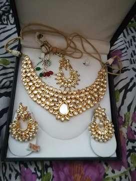 Original kundan jwellery set